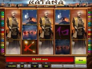 Katana online slot