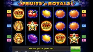 fruits and royals online slot