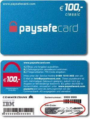 paysafe cards
