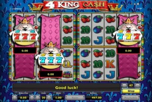 4 king cash online
