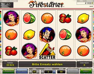 firestarter spielen
